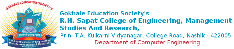R. H. Sapat College Of Engineering, Management Studies And Research | Computer Engg.
